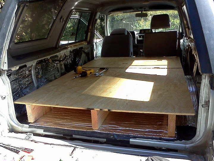 4Runner Sleeping Platform